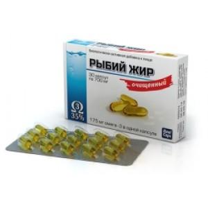 Рыбий жир очищенный 700 | Натуральные масла