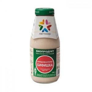 ТД Лактомир, Биопродукт бифидумбактерин Бифишка, 300 мл