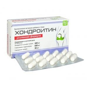 Хондроитин Усиленная формула, 60 капсул