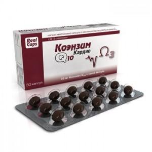 Коэнзим Q10 Кардио (Coenzyme Q10 Cardio), 30 капсул
